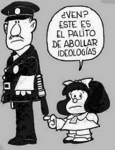 Quino: la represion segun Mafalda
