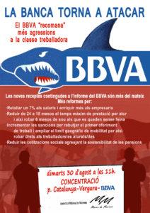 Concentración 30 de agosto BBVA